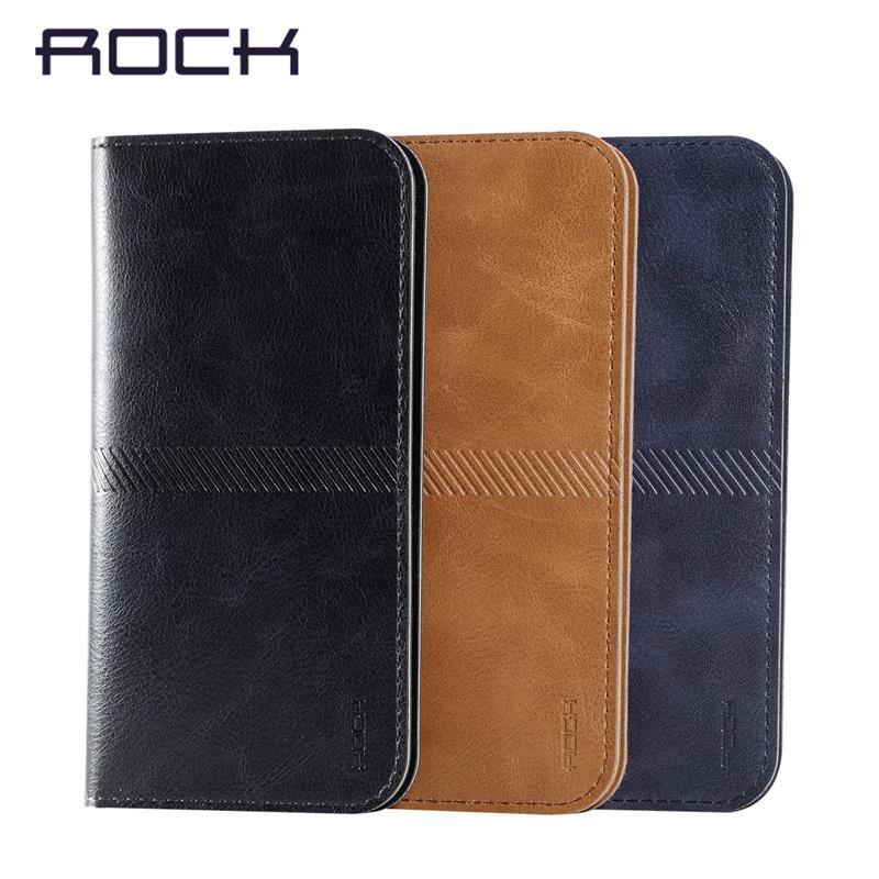 Rock Universal Wallet Case Leather Cover