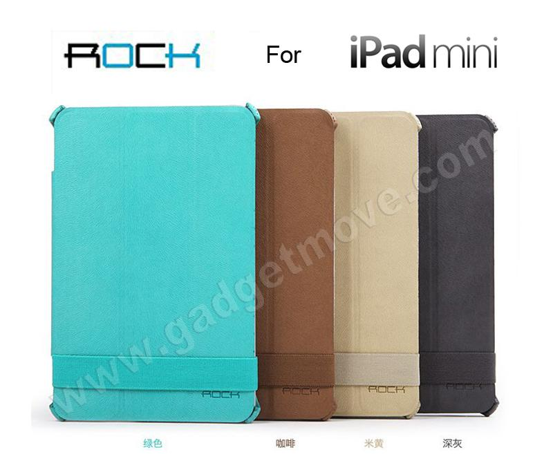 ROCK Veins Apple iPad Mini Retina 1 2 3 Standable Leather Cover Case