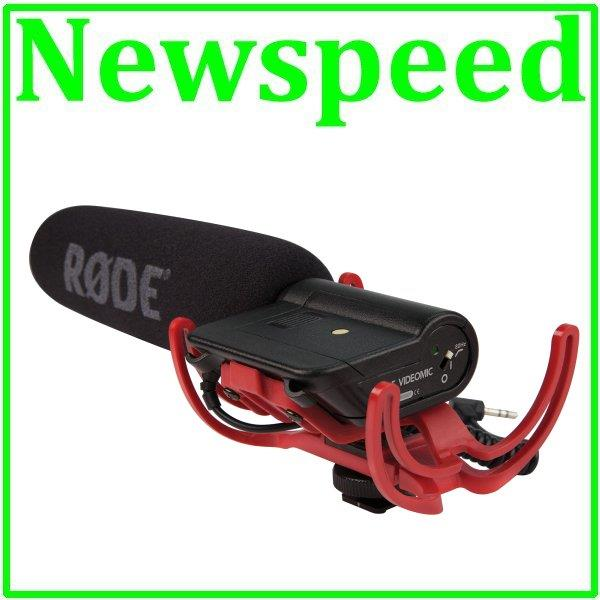 New RODE VideoMic Rycote Digital DSLR Camera Video Mic Microphone