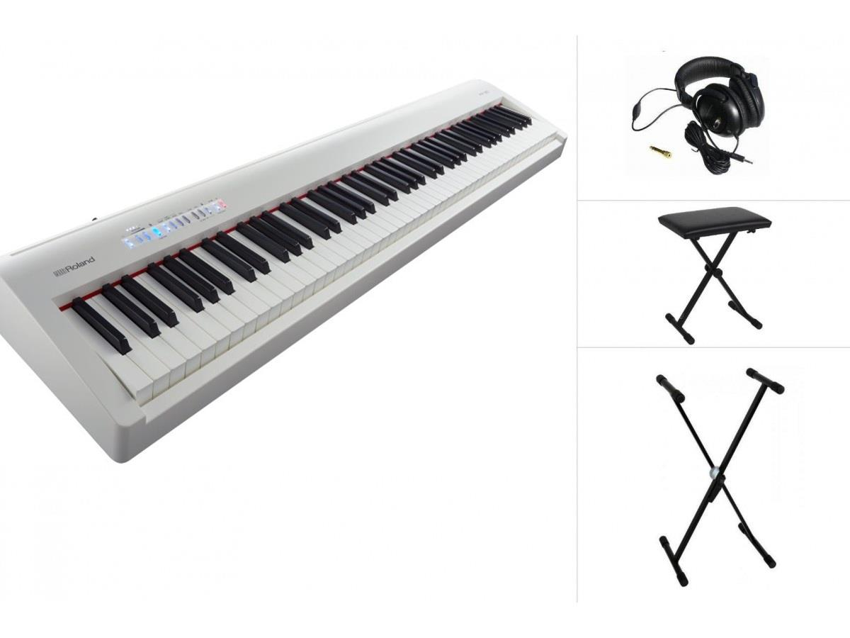 ROLAND FP-30 88 KEYS DIGITAL PIANO WHITE (PACKAGE B)