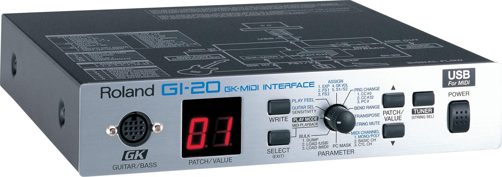 Roland GI-20 GK-MIDI Interface