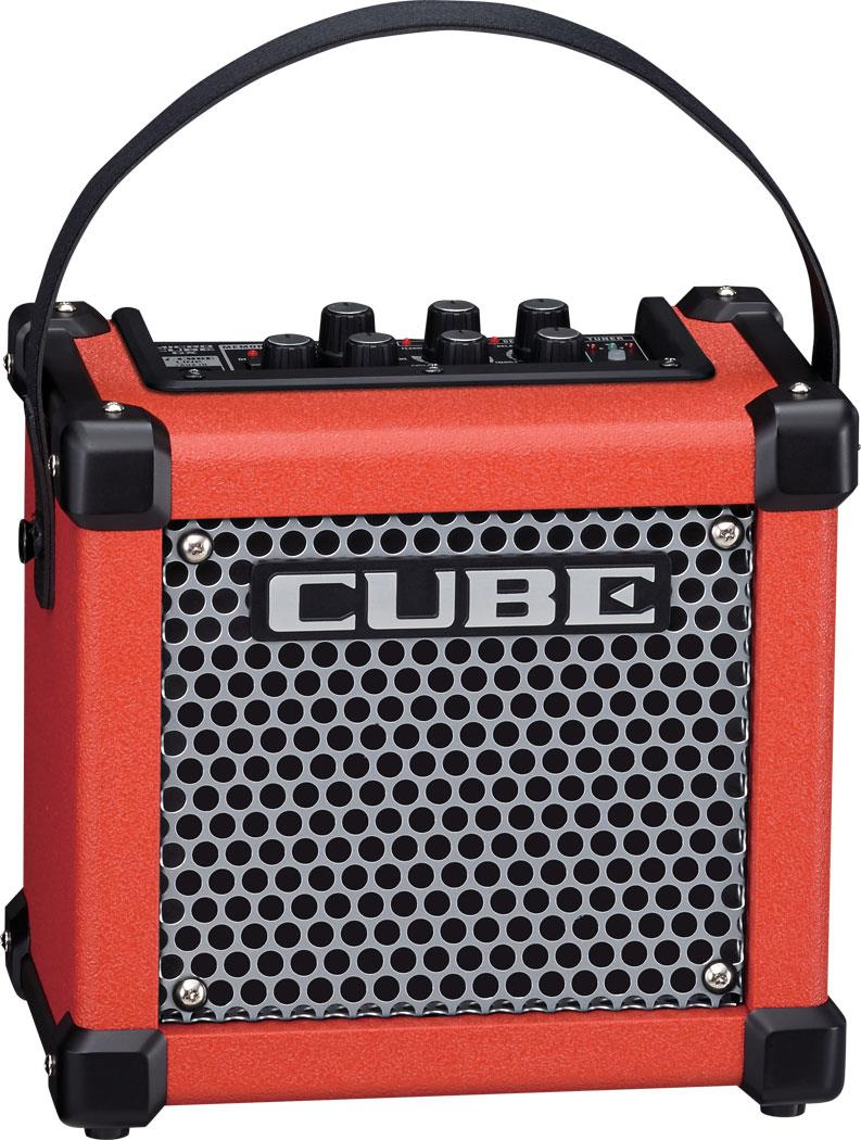 Roland Micro Cube GX Guitar Amplifier Red