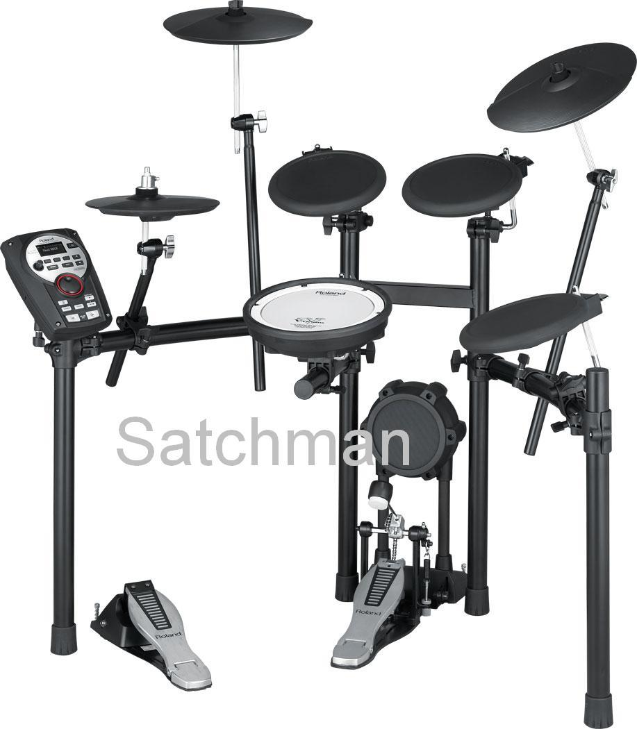 ROLAND TD-11K: V-Drums Digital Drums (FREE Drum Throne & Kick Pedal)