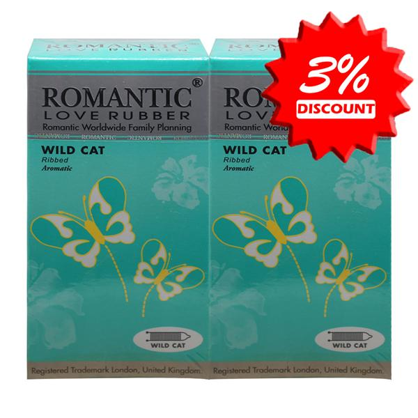 Romantic Love Rubber Wild Cat Condom (Kondom) - 12's