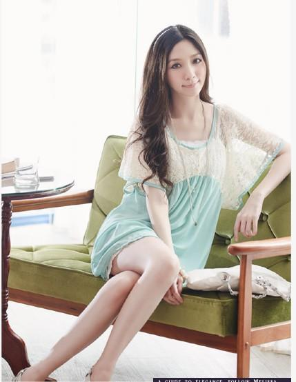 Romantion Chiffon Long Blouse