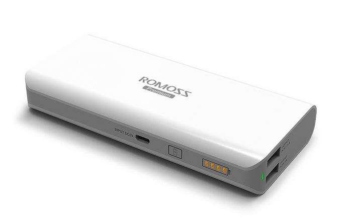 @ Romoss Power Bank Solo 5 10000mAh 2 Usb with 2.1A Fast Charge @