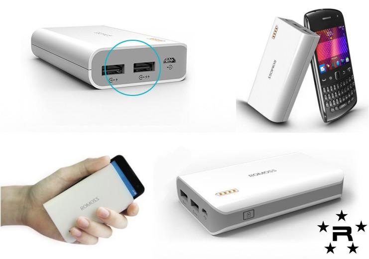 Romoss Solo 3 6000 mAh Power Bank  - rmtlee