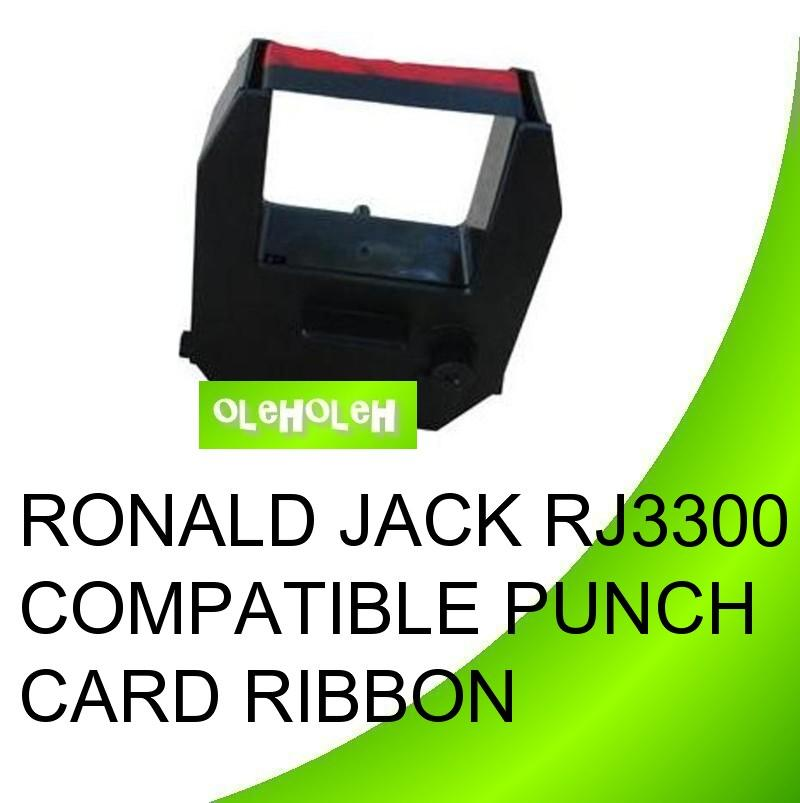 Ronald Jack RJ3300 RJ8000 Compatible Punch Card Ribbon
