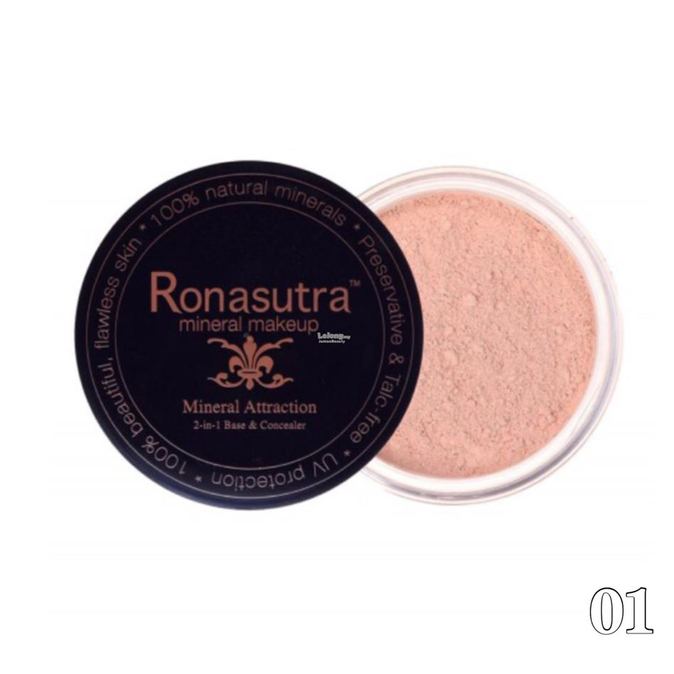 Ronasutra 2-in-1 Mineral Base & Concealer (Cream Peach 01)
