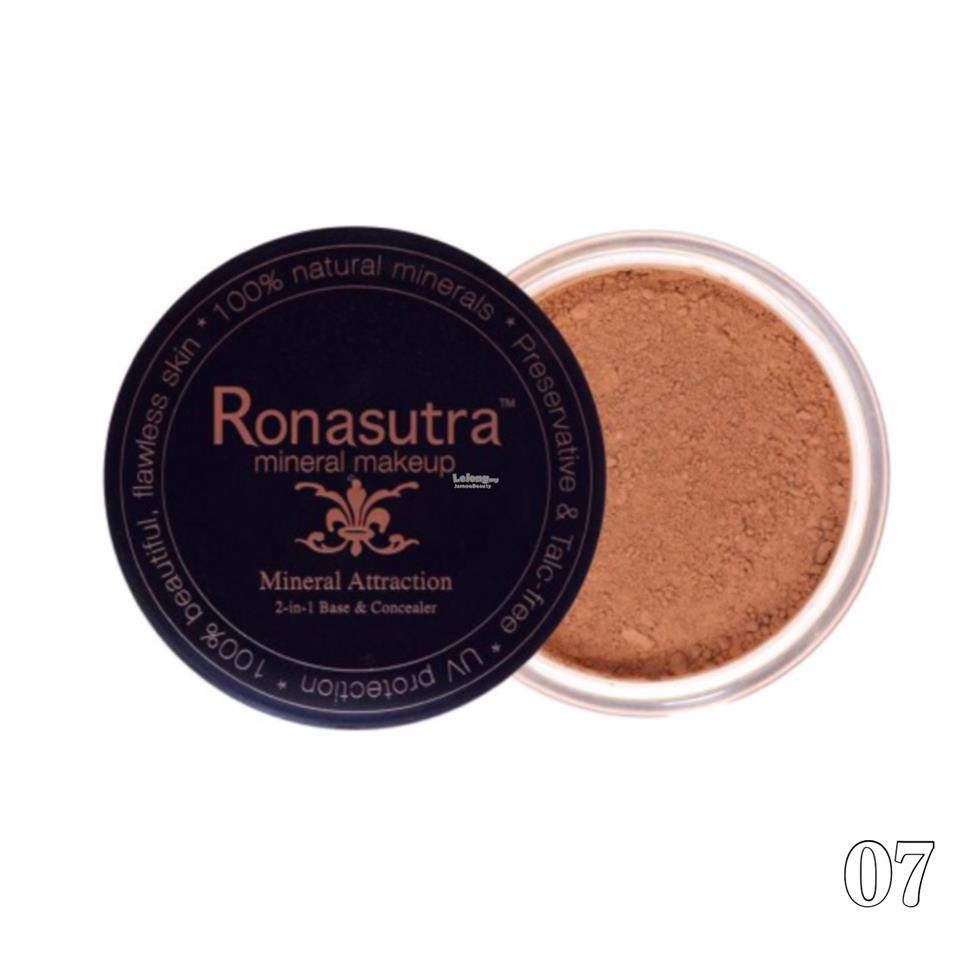 Ronasutra 2-in-1 Mineral Base & Concealer (Dark Chocolate 07)