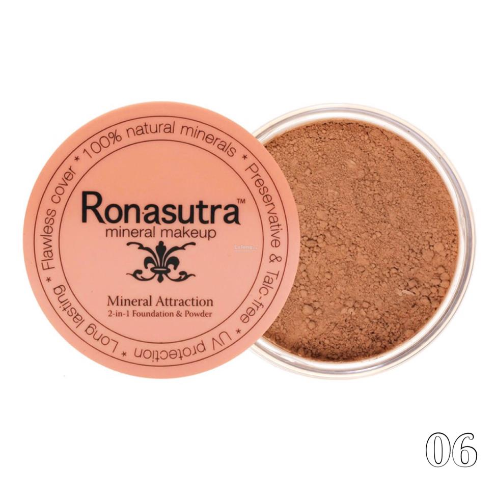 Ronasutra 2-in-1 Mineral Foundation & Powder (Chestnut 06)