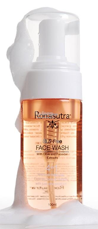 Ronasutra 4-in-1 Face Wash (SLS-Free) 100ml