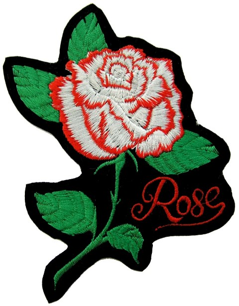Embroidery patch roses free patterns