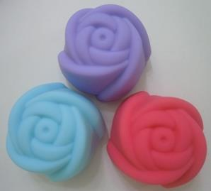 Rose Silicone Baking Cup (4 pcs)