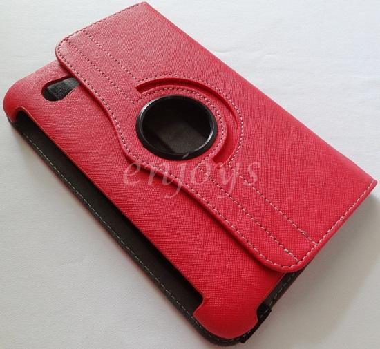 Rotate Leather Pouch Case Cover Samsung Galaxy Tab 7.0 P3100 P6200 ~R