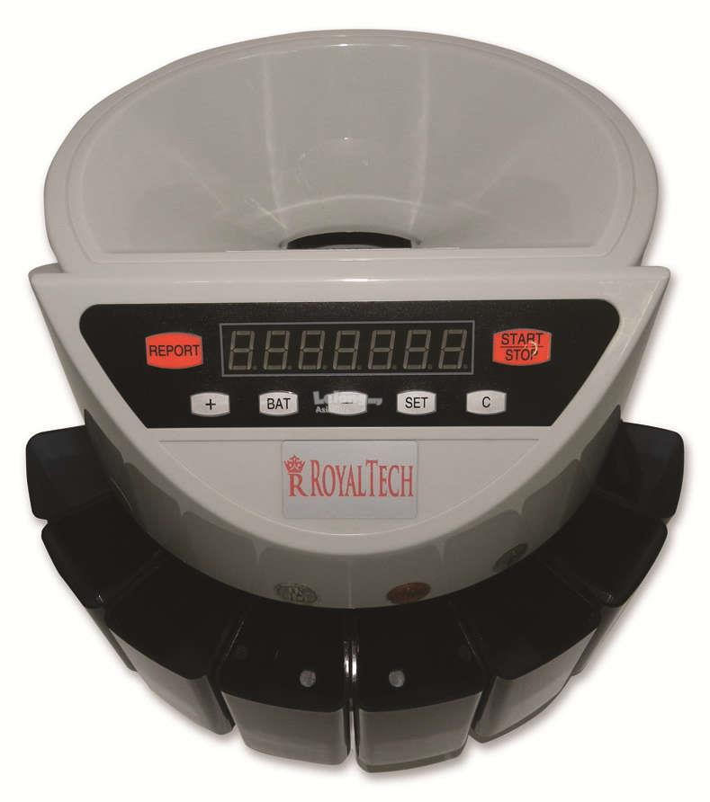 ROYALTECH ELECTRIC COIN COUNTING MACHINE - RTCCM1