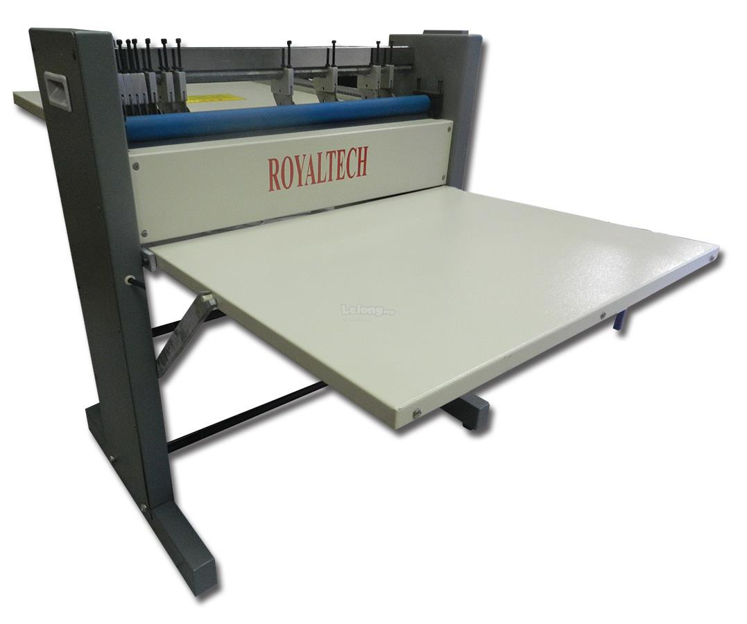 ROYALTECH ELECTRIC CREASING PERFORATING & SLITING MACHINE - RT600CPS