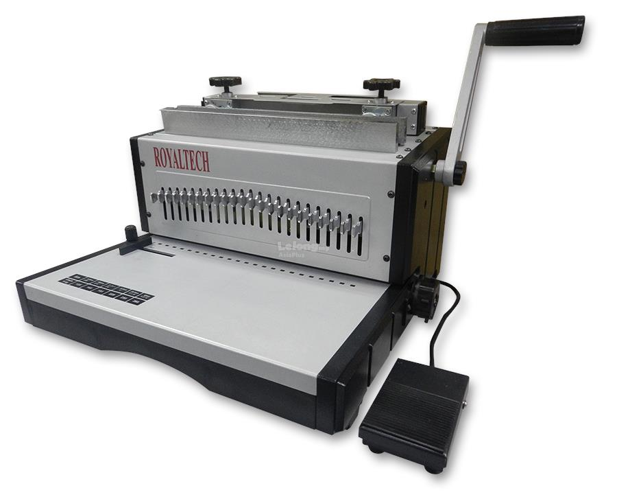 ROYALTECH ELECTRIC WIRE O BINDING MACHINE 2:1 - RTEW21