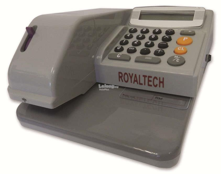 ROYALTECH ELECTRONIC CHEQUE WRITER - RT310