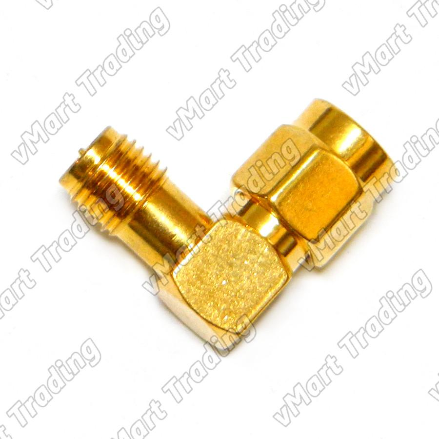 RP-SMA L Connector / Adapter for WiFi / WWAN / 3G Router / Modem