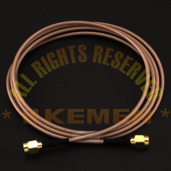 RP-SMA Male to Male 1.5 Meter Cable for Wifi Antenna