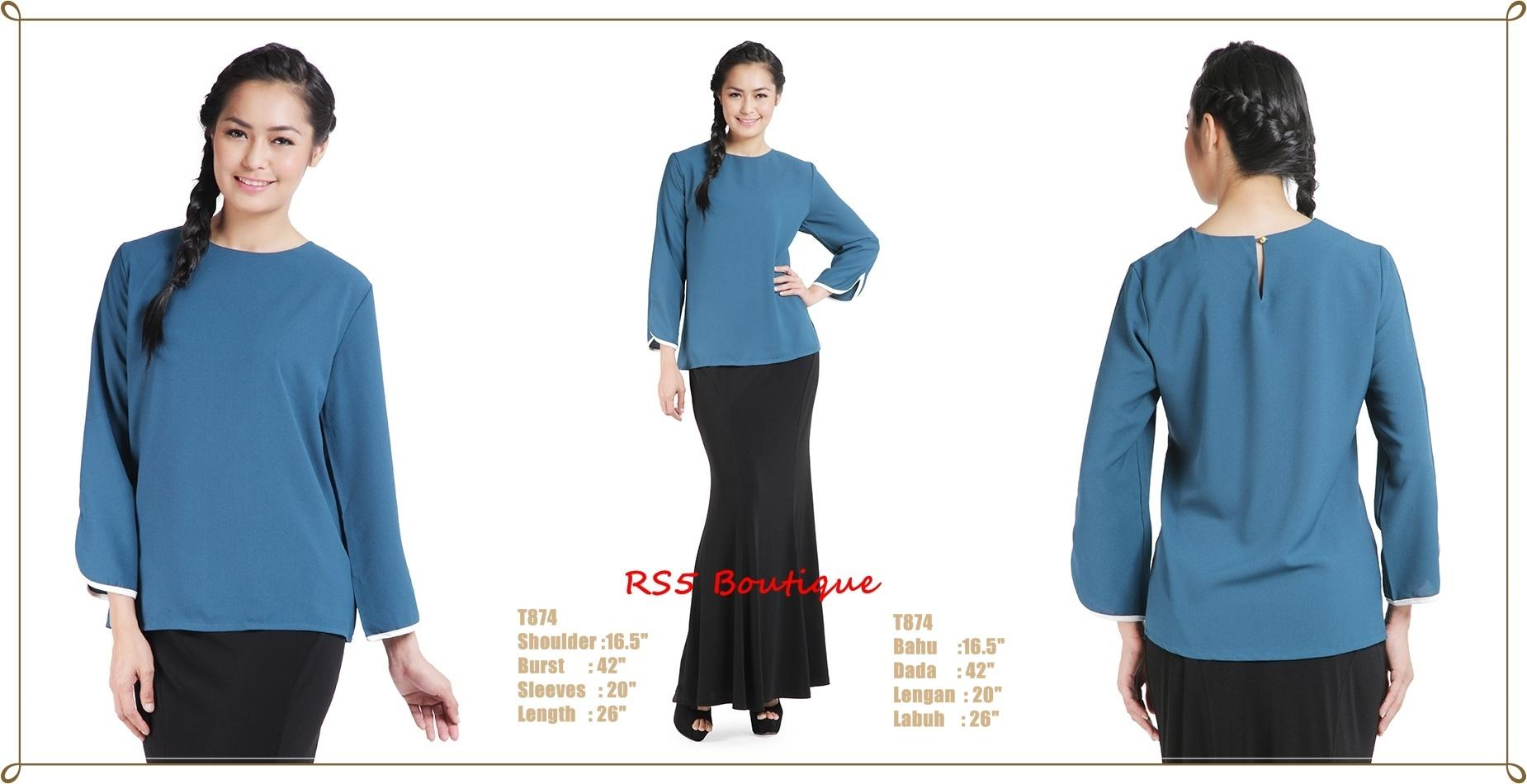 Cotton Blouse For Muslimah 13