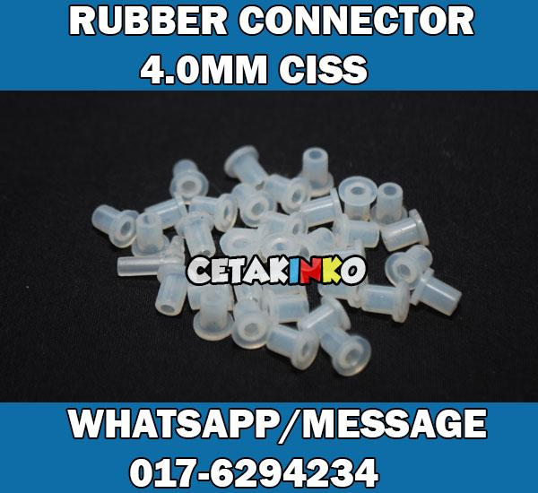 RUBBER CONNECTOR 4.0MM CISS