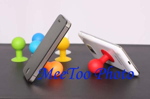 Rubber Suction Stand Octopus Ipad Iphone Ipod Mp4 Mp3 HTC NOKIA