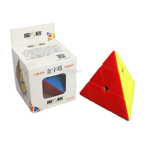 Rubik's Cube - MoFangGe 3x3x3 Pyraminx Stickerless Colour