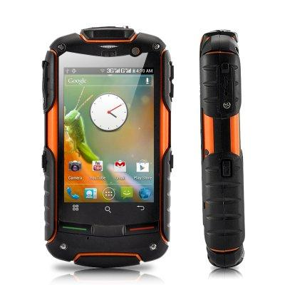 "Rugged Android 4.0 Phone ""Fortis Evo"" - 3.2 Inch IPS Touch Screen, GPS"