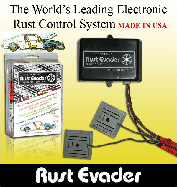 RUST EVADER: The World Leading Electronic Car Anti Rust Control System