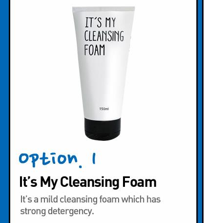 It's My Cleansing Foam 150ml- Mild & Deep cleansing