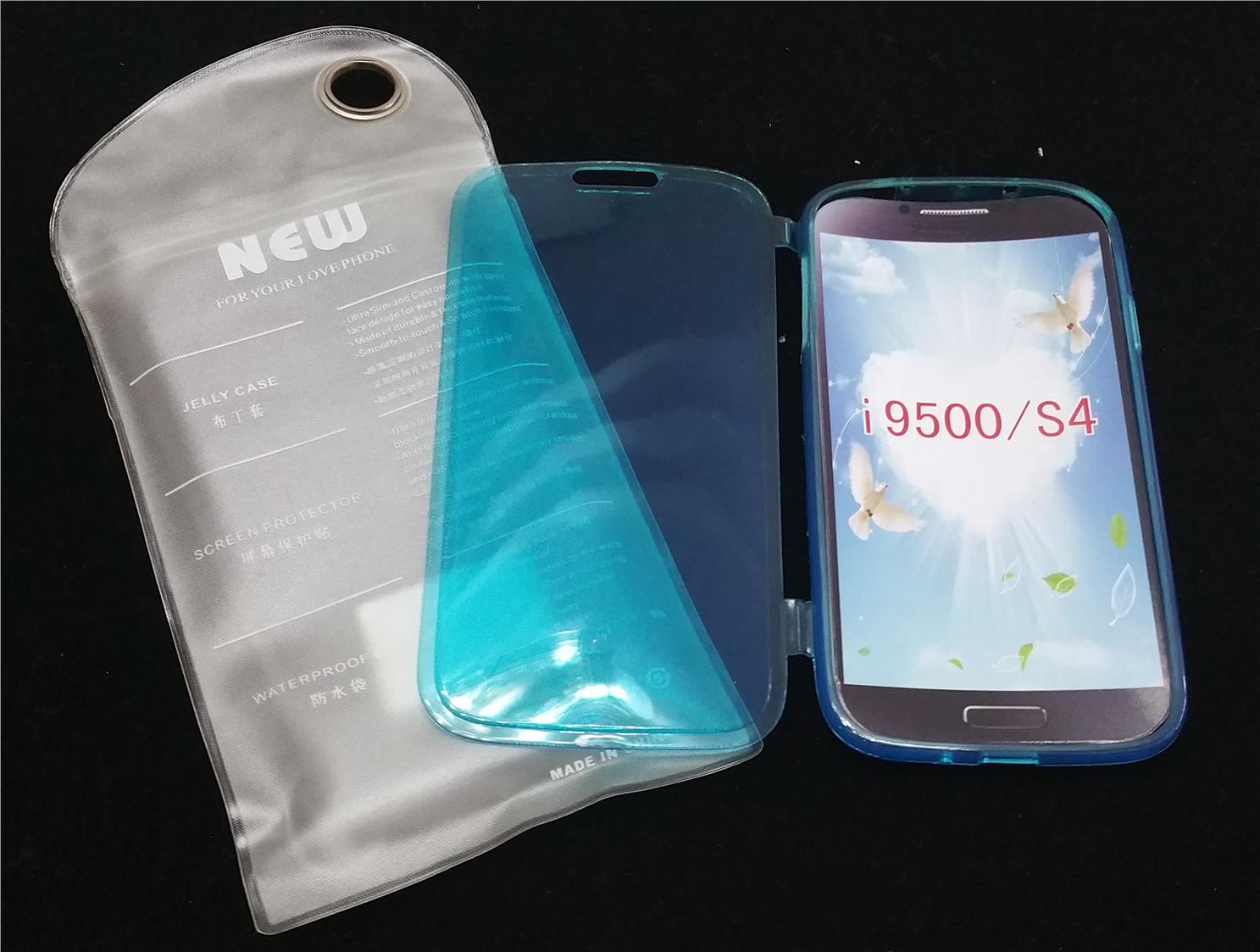 #S47 Samsung Galaxy S3 i9300 Flip Case Blue Water Proof Bag