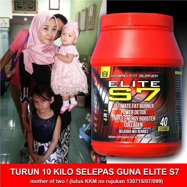 S7 ELITE HYBRID FAT BURNER
