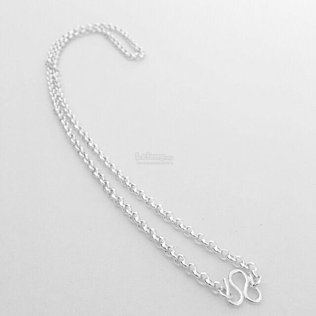 S925 Sterling Silver Men's Necklace
