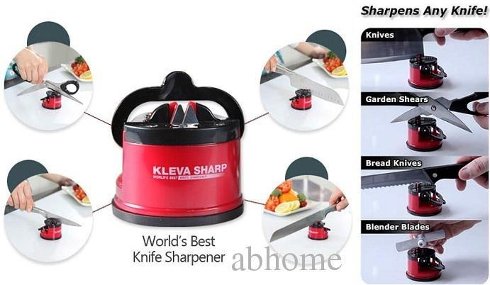 Safety Knife Sharpener Scissors Grinder Suction Chef Pad Kitchen Tool