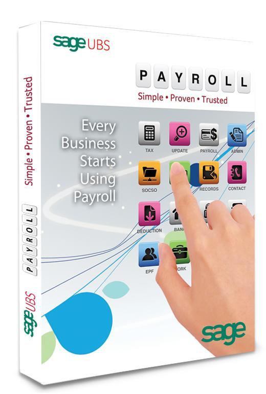 Sage UBS Payroll 2015 Software - Pay 100