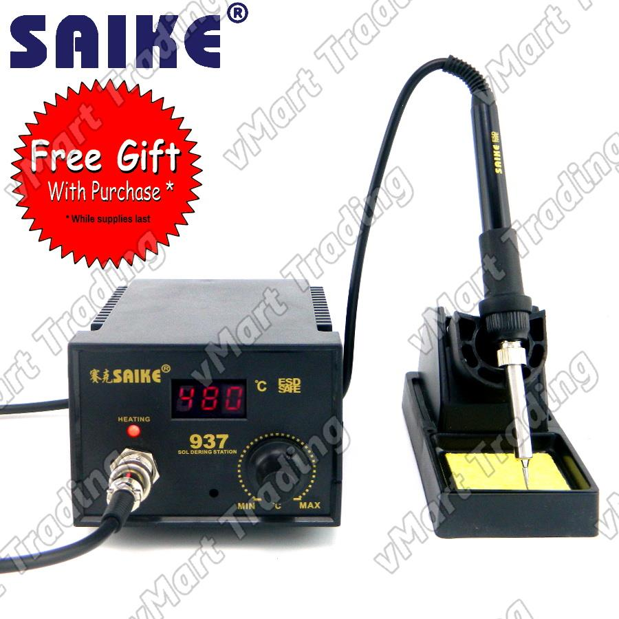 SAIKE 937 Digital 936 Soldering Station + FREE GIFTS