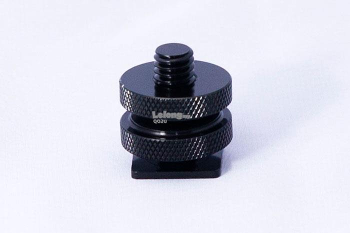 ON SALE!!! 3/8' Screw To Hot Shoe Adapter