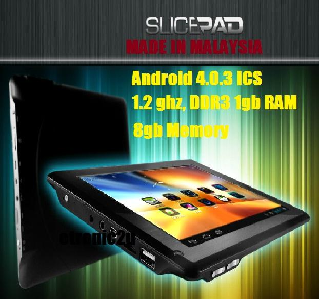 **SALE**  8 ' SLICEPAD TABLET 4.0.3 ICS CAPACITIVE