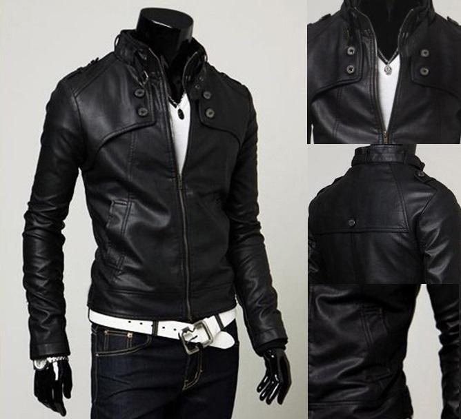 SALE!!! D.HOMME KOREAN STYLISH ARROW-TWILL BIKER JACKET