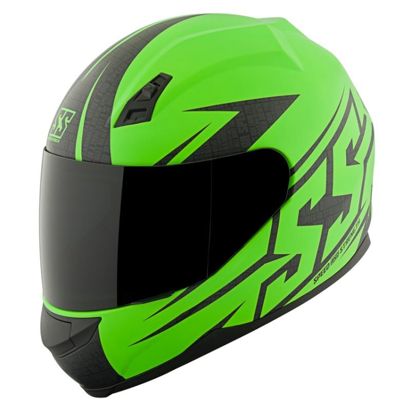 *SALE* Speed & Strength SS700 Hammer Down Helmet (Matte Green)