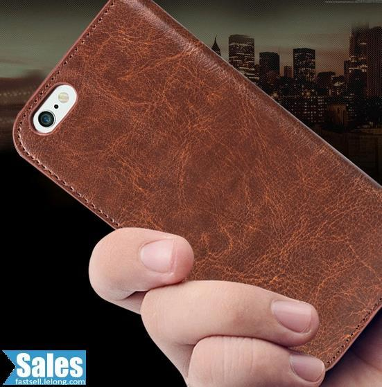 SALES➤ iPhone 6 4.7'' Leather Standing Casing Case Cover