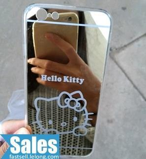 SALES➤ iPhone 6 4.7 Mirror Kitty Doraemon Case Casing Cover