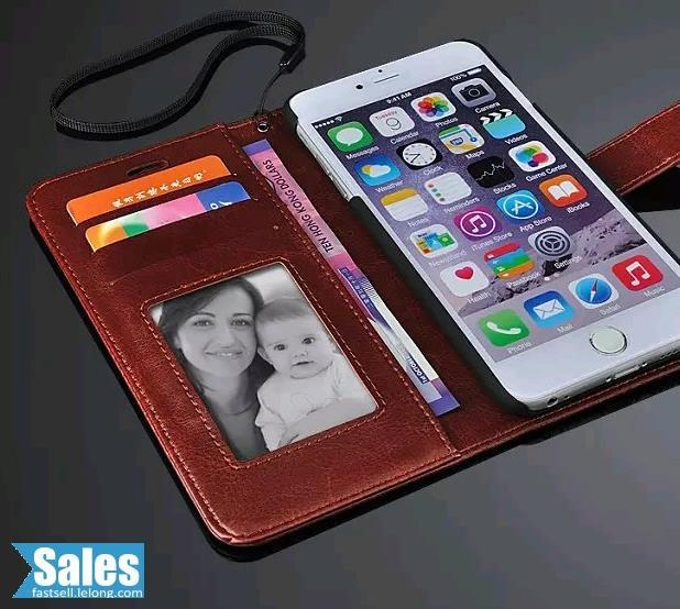 SALES➤ iPhone 6/6 Plus Genuine Brown Leather Casing Case Cover