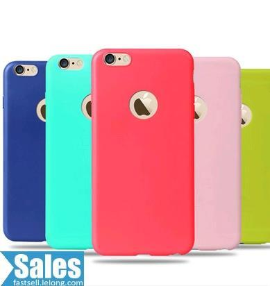 SALES➤ iPhone 6 Plus Simple Color Case Casing Cover