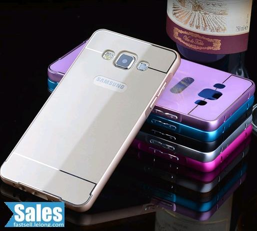 SALES➤ Samsung A3 Metal Frame Back Casing Case Cover