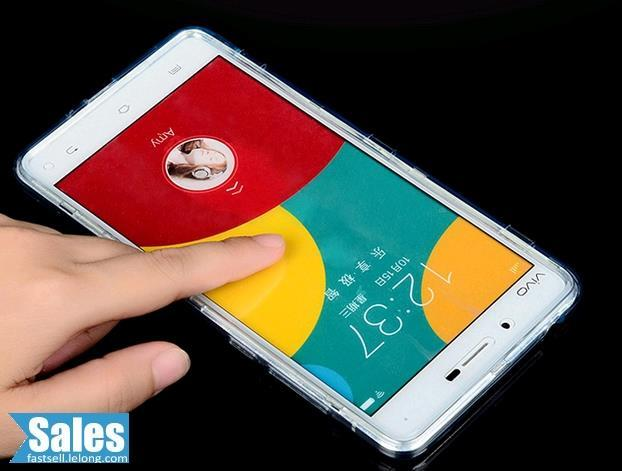 SALES➤ Vivo X5max Translucent  Wallet Casing Case Cover