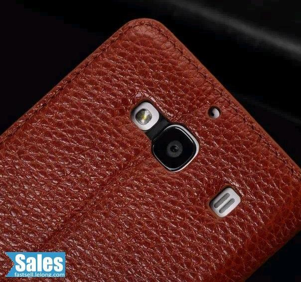SALES➤ Xiaomi 2 Genuine Brown Leather Casing Case Cover