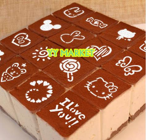 SALES 50% Icing Stencil On Cake/Cookie Royal Icing Stenci-HappyNewYear